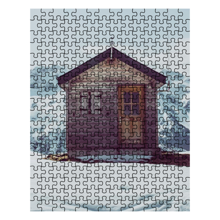 Puzzle - Snowy Cabin