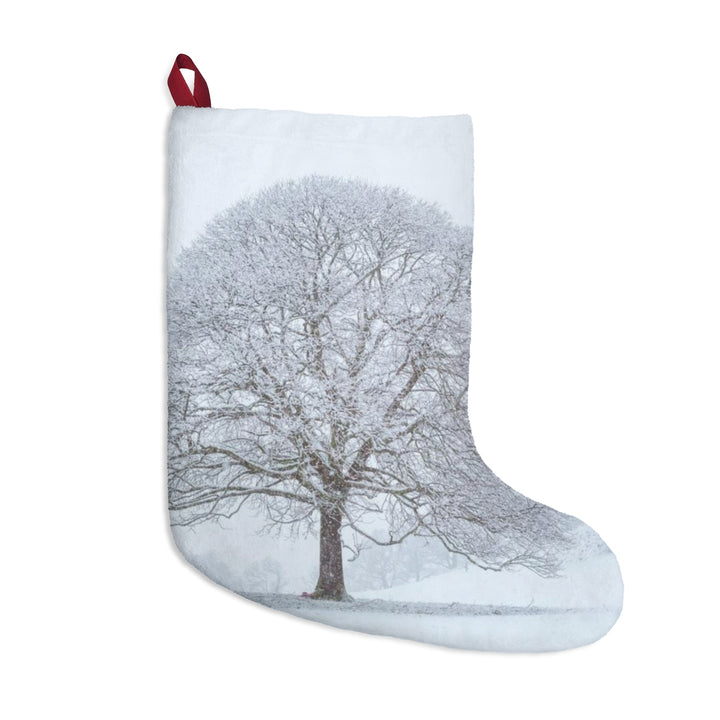 Christmas Stocking - Snowy Trees ll