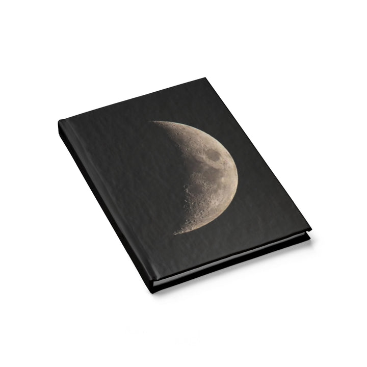 Crescent Moon - Hardcover Blank Journal