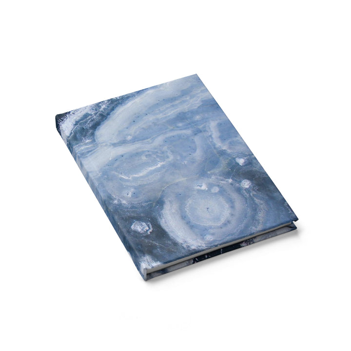 Blue Watercolor - Hardcover Blank Journal