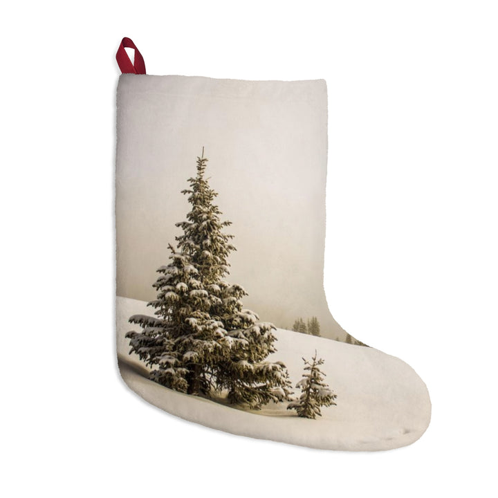 Christmas Stocking - Snowy Trees