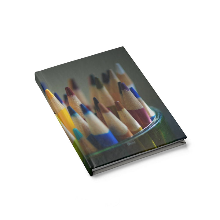 Colored Pencil Tips - Hardcover Blank Journal