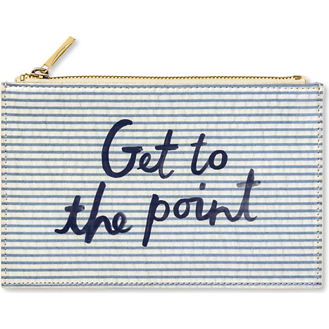 Kate Spade New York Pencil Pouch - Get to the Point