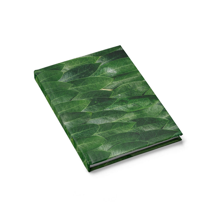 Covered in Leaves - Hardcover Blank Journal