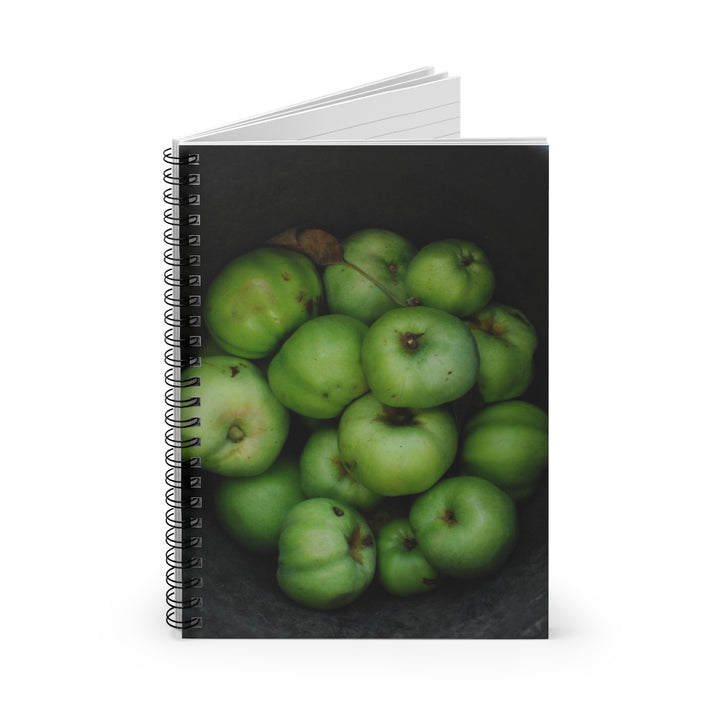 Green Apples - Spiral Lined Notebook