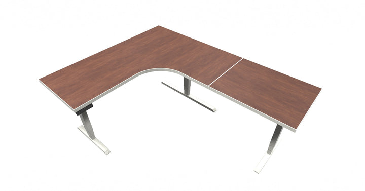 UP Table - L-Shaped Desk - Cherry