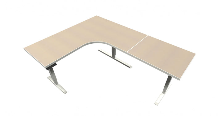 UP Table - L-Shaped Desk - Desert Zephyr