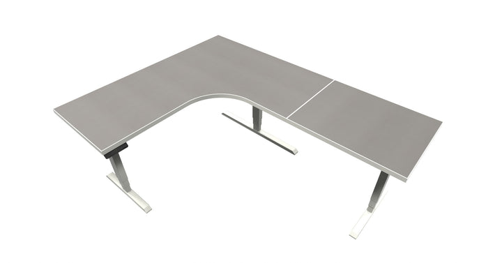 UP Table - L-Shaped Desk - Misted Zephyr