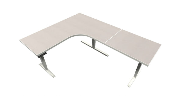 UP Table - L-Shaped Desk - White Nebula