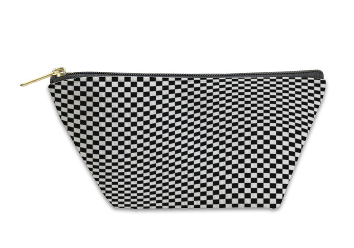Accessory Pouch, Checkered