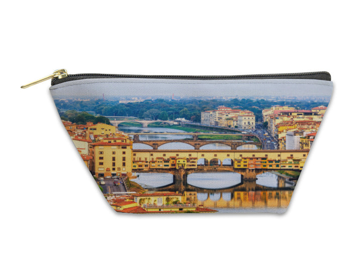 Accessory Pouch, Florence Or Firenze Sunset Italy
