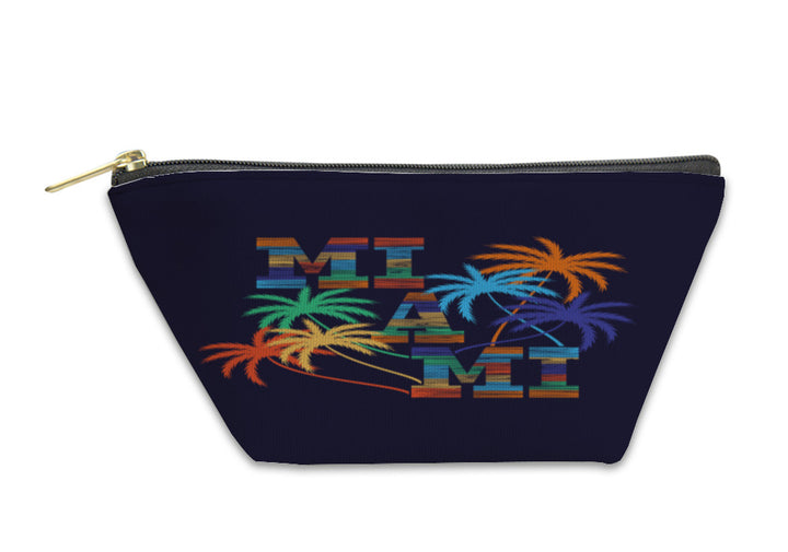 Accessory Pouch - Miami Typography