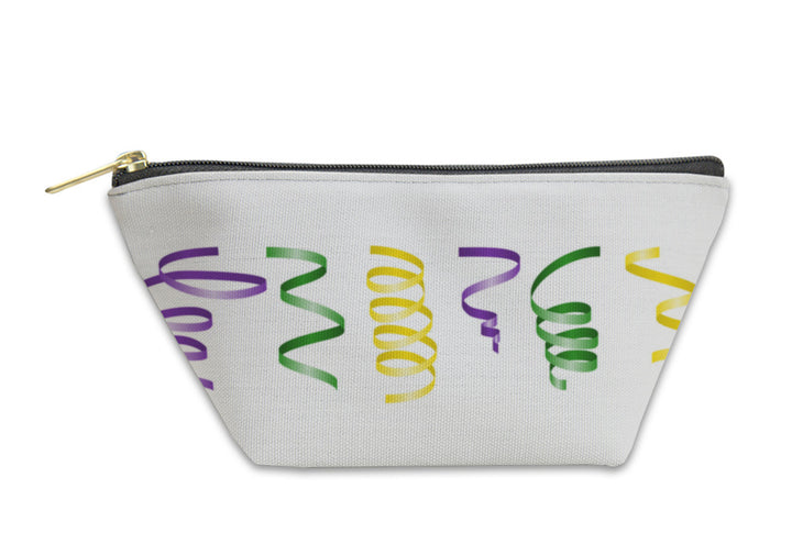 Accessory Pouch, Mardi Gras Streamers Set Illustration