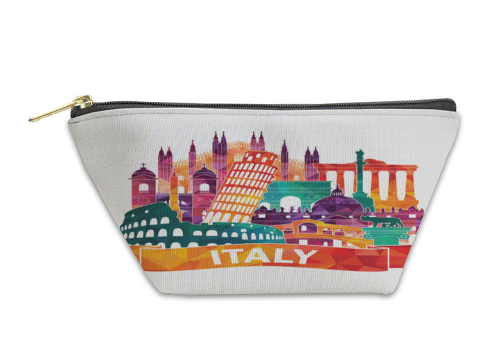 Accessory Pouch, Italy Skyline Illustration