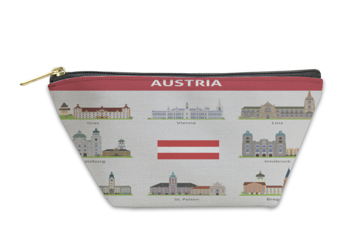 Accessory Pouch - Austria Symbols Of Cities