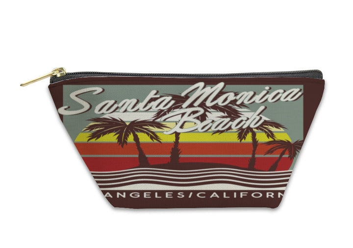Accessory Pouch - Santa Monica Beach