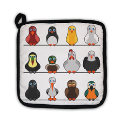 Potholder, Cute Birds