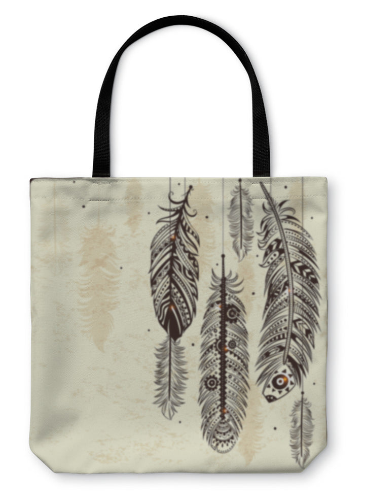 Tote Bag, Ethnic Dream Catcher