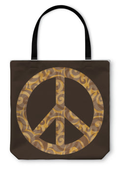 Tote Bag, Peace Symbol