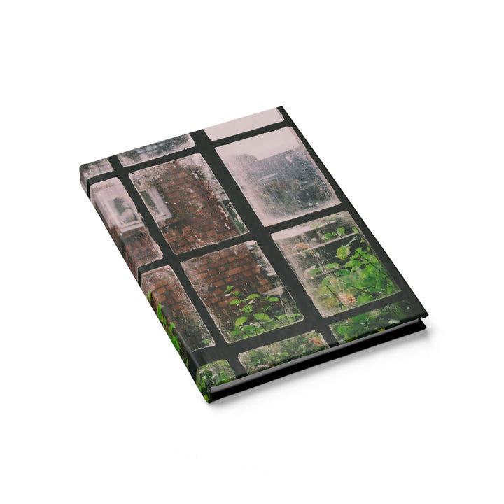 Looking Through the Window - Hardcover Blank Journal