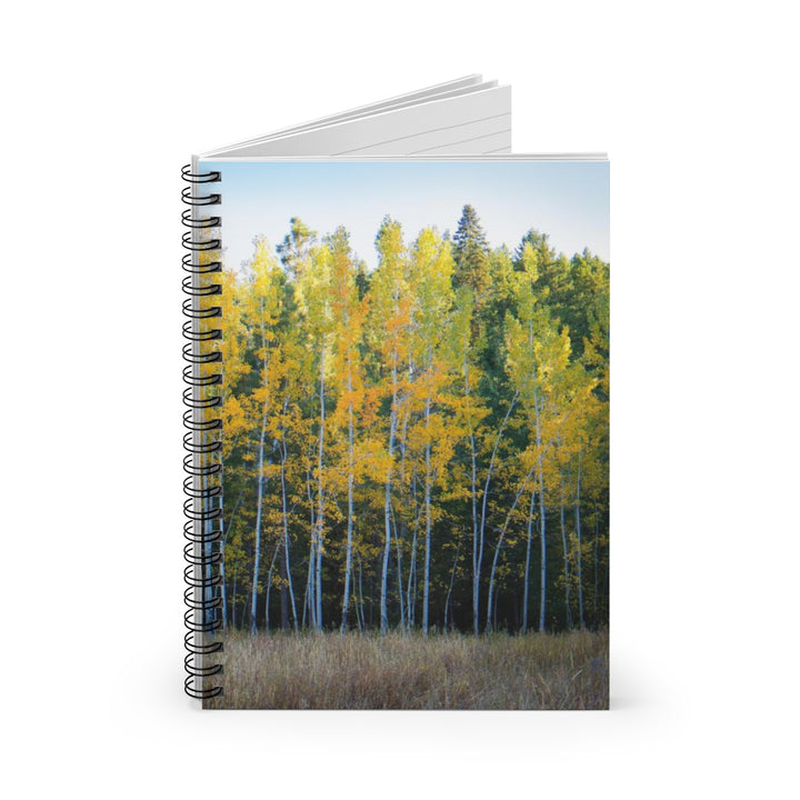 Autumn Trees - Spiral Lined Notebook