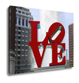 Gallery Wrapped Canvas, Love Park Philadelphia