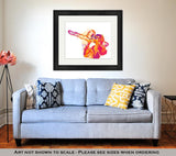 Framed Print - Playing the Trombone
