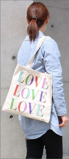 Kate Spade New York Canvas Tote - Love
