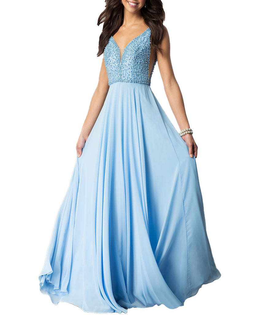 Cheap Dress Coming! Newly Heavy Beaded prom Dress,Empire Prom Dress ...