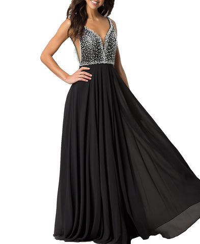Cheap Dress Coming! Newly Heavy Beaded prom Dress,Empire Prom Dress,Charming Lady Prom Dress,Evening Dress,Backless Prom Dress