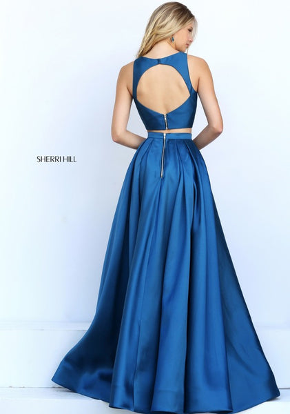 D268 Charming Long Prom New Fashion Royal Blue Prom Gowns, Side Slit Long Prom Dresses