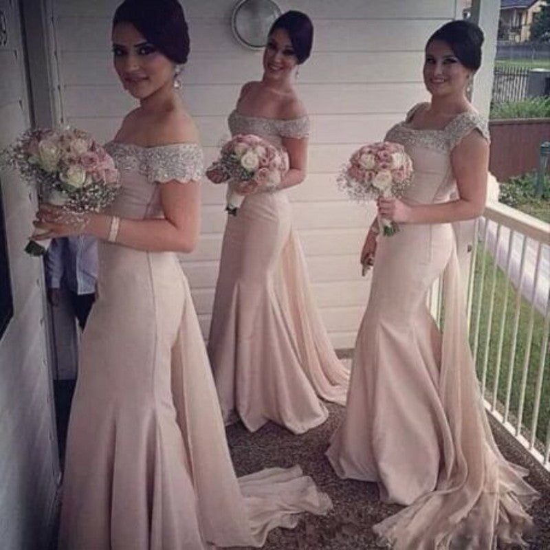 6cca0aa2b1d6 E28 Blush Pink Bridesmaid Gown