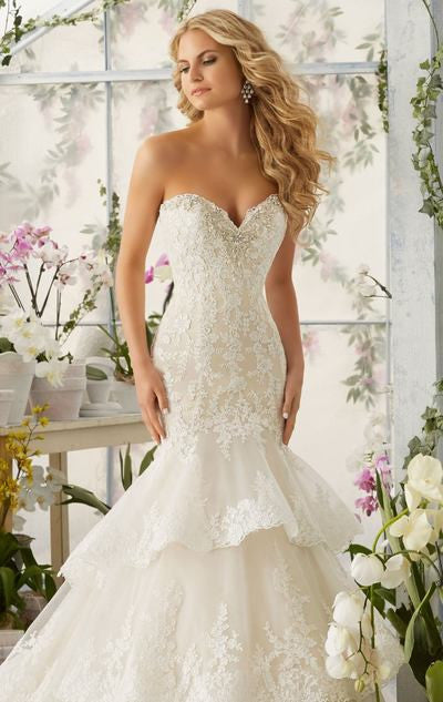 L113 Mermaid Wedding Dress, China Wedding Dress, Vestido De Novia Wedding Dresses