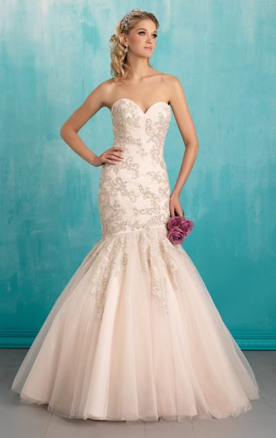 L116 Sweetheart Beading Wedding Gowns, Mermaid Wedding Dress,Mermaid Corset Wedding Dresses