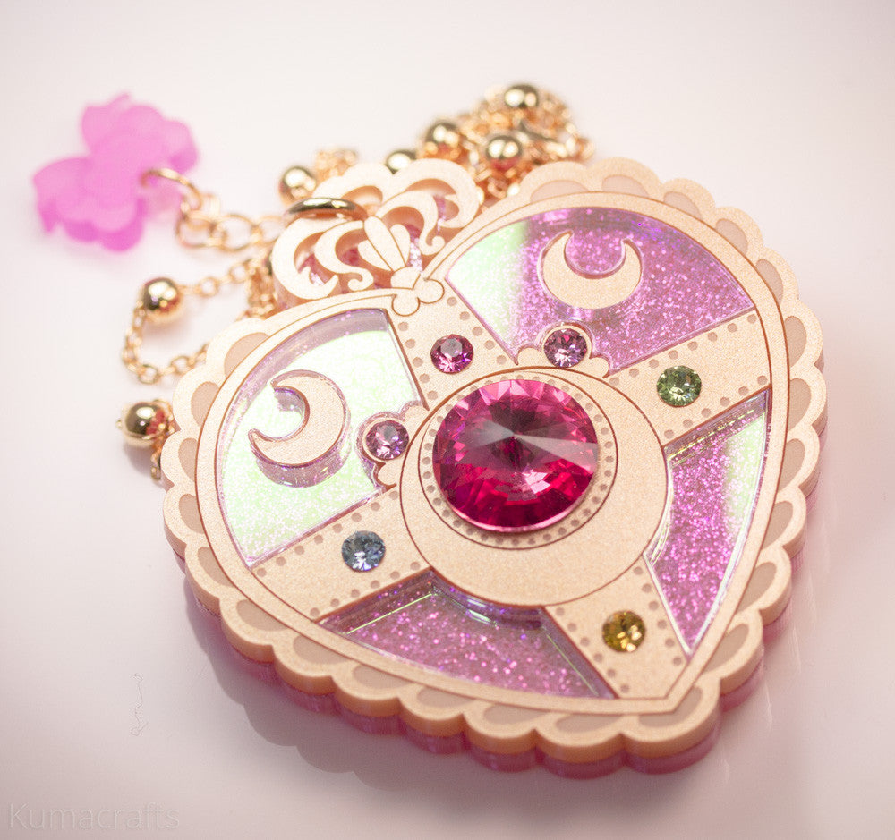 92d719323fd Heart Moon Brooch – Kuma Crafts