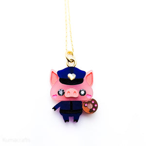 Kuma Village Officer Piggy