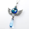 PRE-ORDER Sterling Silver Seraph Soar Staff Necklace