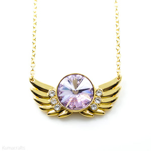 PRE-ORDER Stainless Steel Seraph Soar Wings Necklace