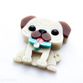 Puggers Necklace or Brooch (30 Days of Unique Kawaii)