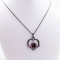 Limited Edition Garnet Orb Inspired Necklace