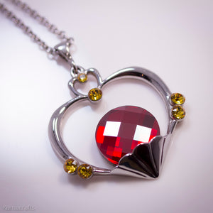 Limited Edition Garnet Orb Necklace