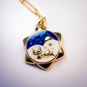 Moonlight Romance Necklace or Keychain