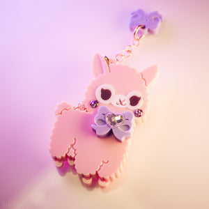 Candy Alpaca Necklace or Brooch