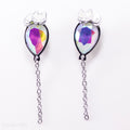 Kitty Balloon Earrings (White Kitty)