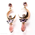 Crescent Twilight Earrings
