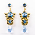 PRE-ORDER Sterling Silver Stellar Staff Earrings
