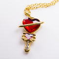 PRE-ORDER Stainless Steel Saturnine Scepter Necklace
