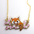 Kitsuko Enjoying Sakura Season Necklace