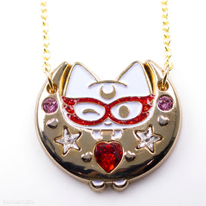 Senshi Kitty Necklace or Pin