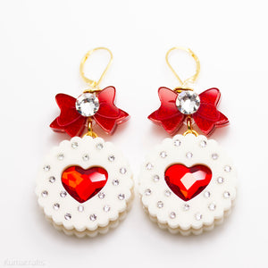 Royal Jam Cookie Earrings